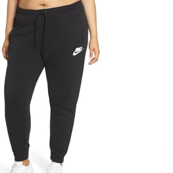Nike Pants Jumpsuits Plus Size Black Women Jogger Poshmark